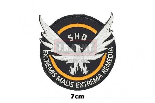 The Division Cosplaying Game Embroidered SHD Patch ( Free Shipping )