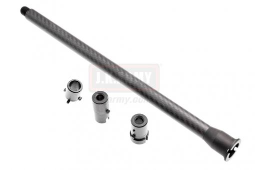 TJC Carbon Fibre GBB M4/AR Outer Barrel 14.5inch 14mm CCW ( for KWA / WE / TM MWS )