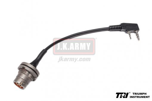TRI Radio Adapter Cable ( Kenwood to 6 Pin for DIY )