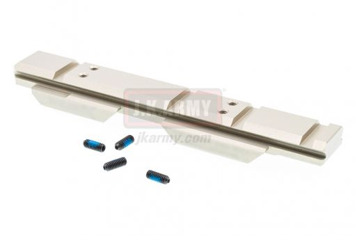 Riser Low Mount Gen2 V2 20mm Rail Airsoft ( Ti-SV ) ( CAG Style )