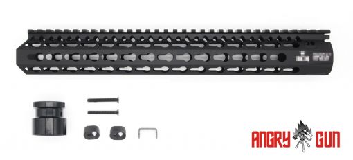 Angry Gun B Style KMR 13inch Keymod Rail for Airsoft