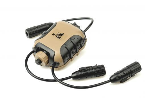 Z-Tactical Z4 OPS Classic PTT - Two Walkie Talkie Input ( Z 118-F2 ) ( Non-Kenwood Ver. )