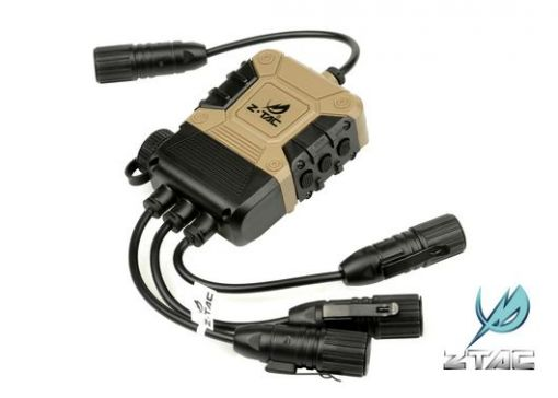 Z-Tactical Z4 OPS C4 PTT - Two Walkie Talkie and One Mobile Phone Input ( Z 119 )