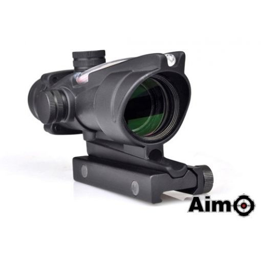 AIM ACO 4X32C Red Dot with Illumination Source Fiber ( BK )