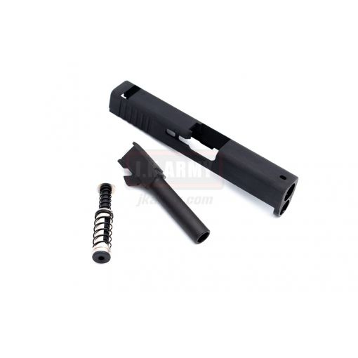Trident Tech Steel Slide Kit for VFC / Umarex G Model 42 GBBP ( Black )