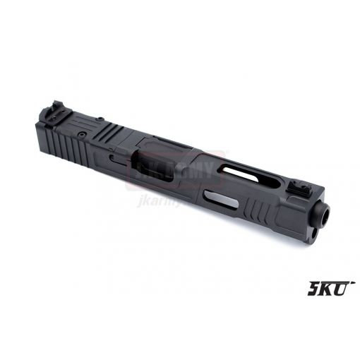 5KU F Style RMR Cut Slide Set for TM G Model 17 ( Black )