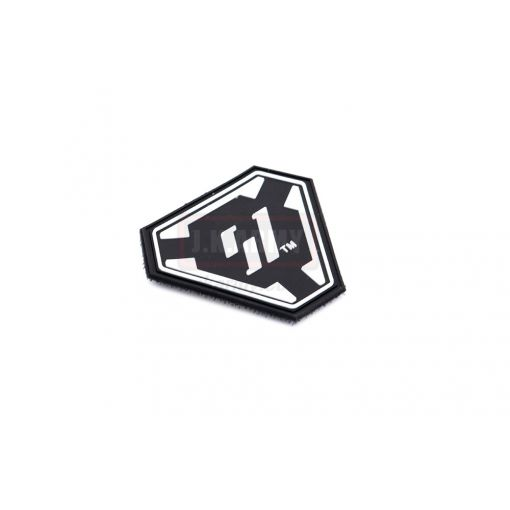 Strike Industry Licensed SI Logo PVC Patch ( Black )