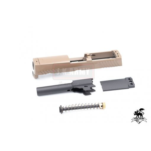 Pro-Arms CNC Steel P320 M18 Slide Kit for SIG / VFC M17 GBB series ( FDE ) ( Cerakote Limited Edition )