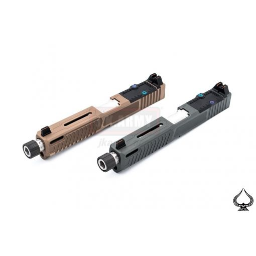 A1A LALLO-P Style Slide kit for TM G Model 17 GBBP ( Black / Grey ) / ( Tan / Bronze )