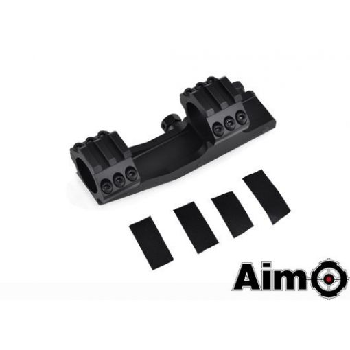AIM-O 25.4mm One Piece Cantilever Scope Mount ( BK )