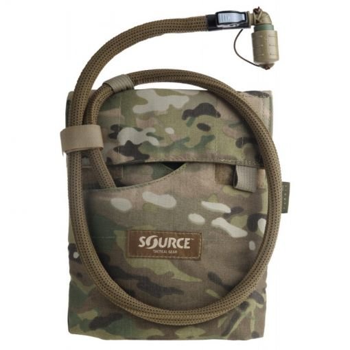 SOURCE Kangaroo Collapsible Canteen 1L with Hydration Pouch ( Multicam )