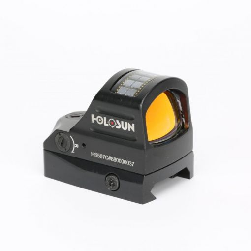 HOLOSUN HS507C Pistol Optic Mini Circle Dot Solar Power Open Reflex Sight