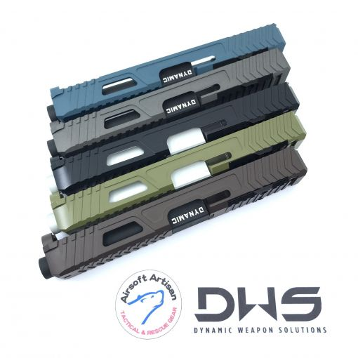 Airsoft Artisan Dynamic Weapon Solution RMR Cut Slide Kit for TM Model 17 ( Cerakote Coating ) ( DWS Licensed )