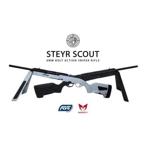 Modify Steyr Scout Airsoft Rifle