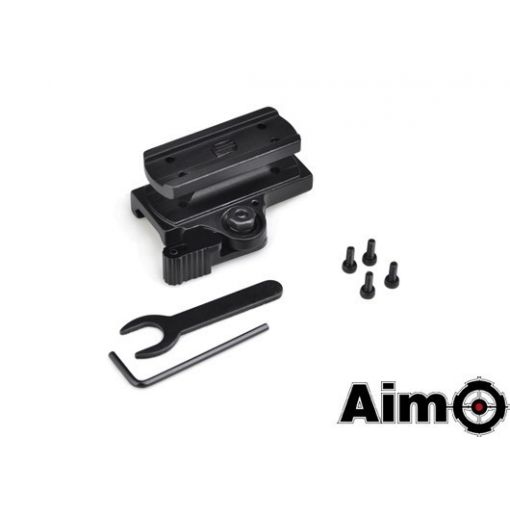 AIM-O Tactical QD Mount for T1 and T2 ( BK )