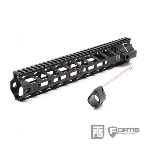 "PTS Fortis REV™ II Free Float -AR M-LOK 12"" ( AR ) Rail ( BK )"