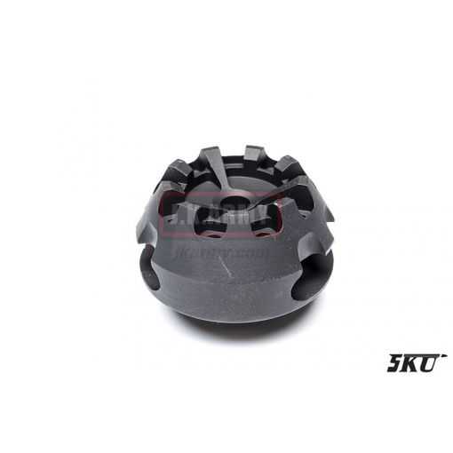 5KU Cookie Cutter Flash Hider for Airsoft ( Type 1 ) ( 14mm CCW )
