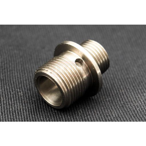 5KU Stainless Steel Silencer Adapter 11mm CW to 14mm CCW ( SV )