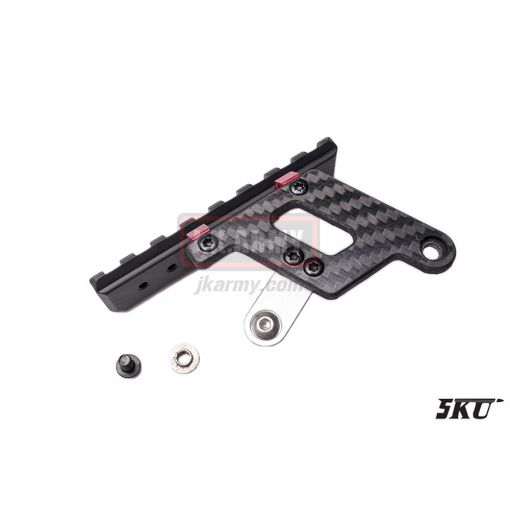 5KU Shooters Carbon Mount Base ( Red )