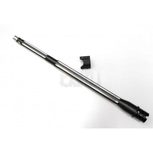 "B*D style Ultramatch 14.5"" outer barrel kit for PTW w/ Proprietary Gasblock Combo (Black/Silver).625""Version"
