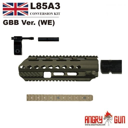 Angry Gun L85A3 Conversion Kit for WE GBB Version ( DE )
