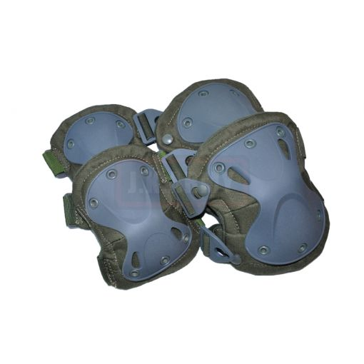 Transformers Style Tactical Knee And Elbow Pads Set ( OD )
