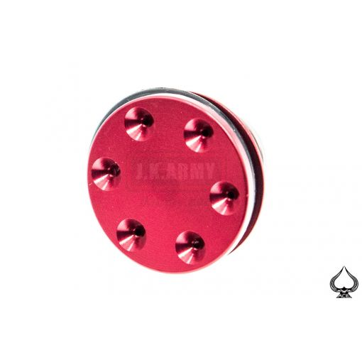 A1A CNC Aluminum 6-Holes Piston Head ( Red )