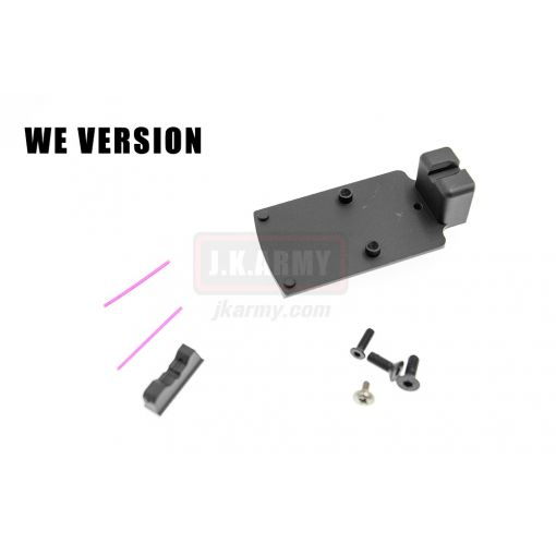 Airsoft Artisan RMR Mount with Sight Ver.2 for WE G Series