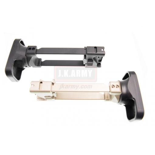 Airsoft Artisan CNC Retractable Stock for KSC / KWA MP9 / TP9 ( BK / DE )