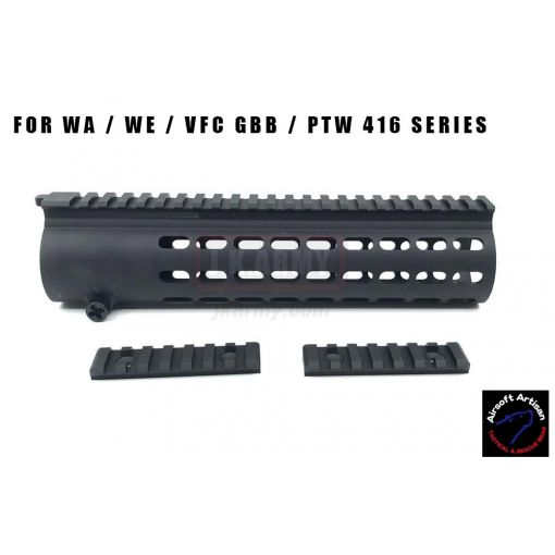 Airsoft Artisan DD416 Rail System For WA / WE / VFC GBB / PTW 416 Series ( NSWDG Style )