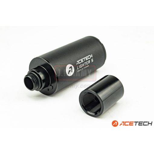 Acetech Lighter S Tracer Unit M11 Male CW Thread ( with Adaptor M11 CW to M14 CCW )