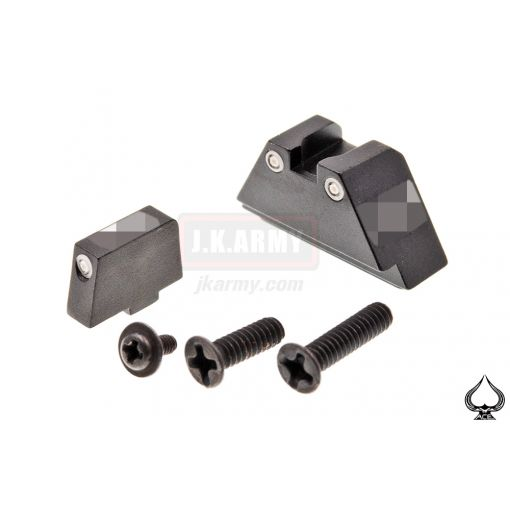 Ace One Arms Tritium Iron Suppressor G-Sight Set for G18 GBB Airsoft