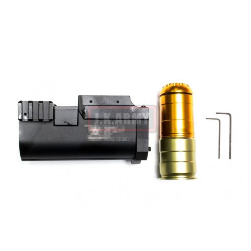 AF Metal 40mm Grenade Launcher with 120rds 40mm Airsoft Grenade ( BK )
