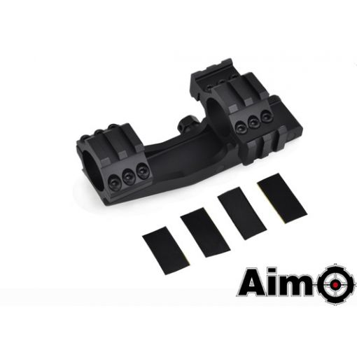 AIM-O Tri-Side Rail Extend 25.4mm Ring Mount Type 1 ( BK )