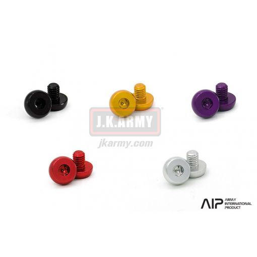 AIP 7075 Aluminum Grip Screws For TM 4.3 / 5.1