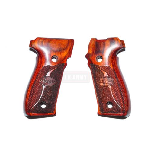 Altamont Wood Grip For WE / HK P226 ( Type 2 - Brown )