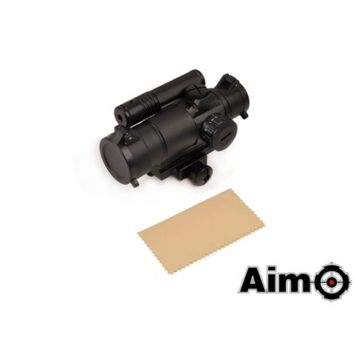 AIM-O M4 Red/Green Dot Sight w/ Laser ( BK )
