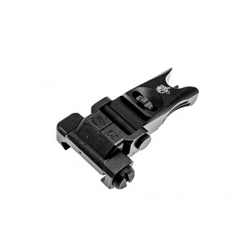 Alpha KAC Licensed Steel Folding Micro Front Sight ( BK )