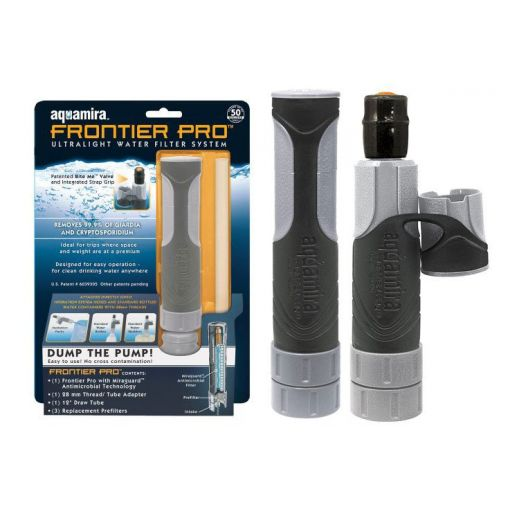 Aquamira Frontier Pro™ Portable Water Filter