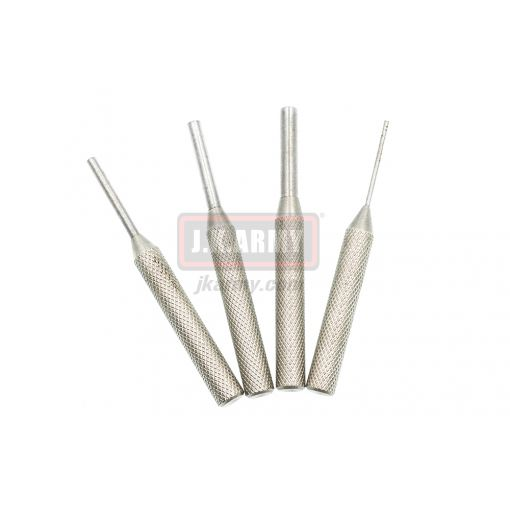 AR 1.5mm, 3mm, 4mm, 5mm Steel Punch Set ( Type B )