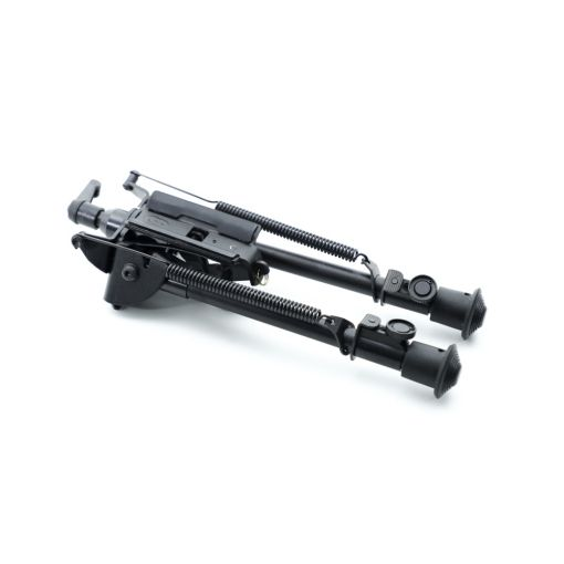 Alpha 6-9 Inch Adjustable Spring Return Bipod with Fast Lock