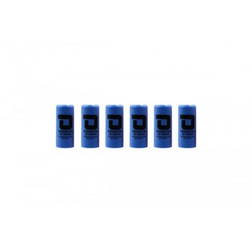 DOMINATOR™ 12 Gauge Gas Shotgun Shell Hulls - Blue ( 6 Shells / Pack ) ( DM870 )