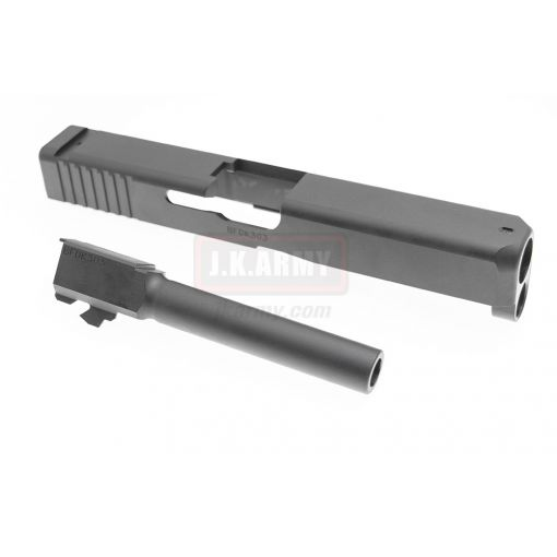 Bomber CNC Steel Model 17 Slide Kit for Umarex / VFC Glock 17 GEN5 GBB ( Black )