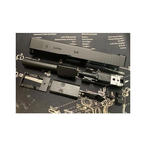 Bomber CNC Aluminum Ver. Model 19 MOS Slide Kit for Umarex / VFC G19 Gen3 GBB Series Limited ( SOCOM - MK27 Mod 2 )