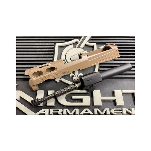 Bomber CNC Aluminum PRO-CUT ( 3.9 inch ) Slide Kit for SIG / VFC P320 GBB Series ( M18 Size )