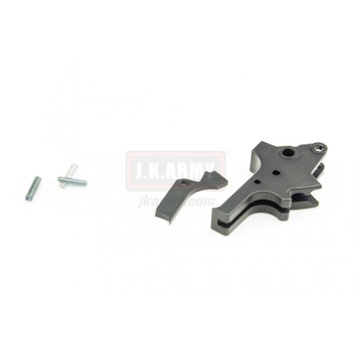 Bomber AP-Style (Flat-faced) Adjustable Trigger for TM Airsoft M&P9 GBB series ( BK )