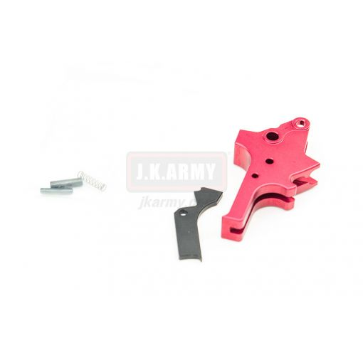 Bomber AP-Style (Flat-faced) Adjustable Trigger for TM Airsoft M&P9 GBB series ( RD )