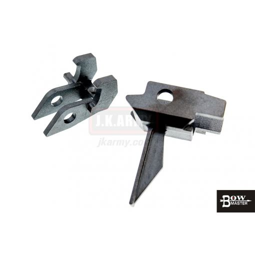 Bow Master CNC Steel Trigger Set for GHK AK GBBR ( Type A )