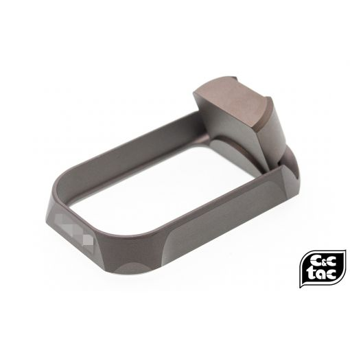 C&C BKL Style CNC Aluminum Magwell for UMAREX GLOCK / TM G Series ( G Model ) ( DDC - Desert Dirt Color )