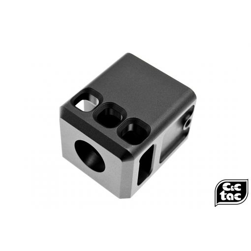 C&C GLK Style Compensator 14mm CW / CCW Thread ( G Model Combat Comp )